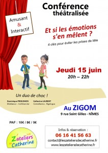Affiche Emotions A4
